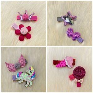Girl Hair Clips Handmade Accessories